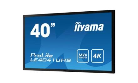 Iiyama ProLite LE4041UHS: 40 Zöller mit Ultra HD ab sofort im Handel