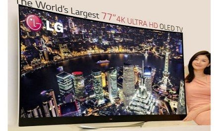 LG hofft auf 60 Zoll flexible 4K-OLED-Bildschirme