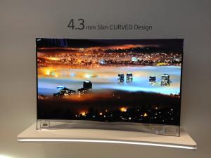 Curved-Fernseher von LG