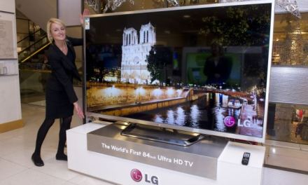 4K-Gaming auf dem 84-Zoll Ultra HD TV von LG [Video]