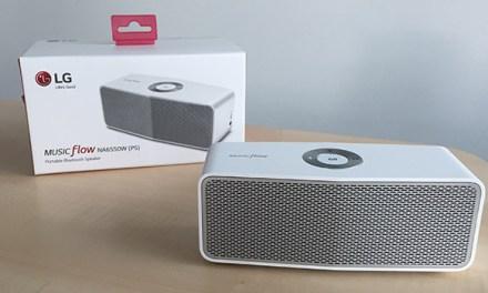 LG P5: Wireless Music Flow Lautsprecher im Hands-On