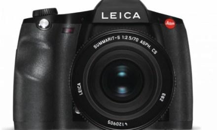 Leica S Typ 007 nun offiziell für 17.850 Euro verfügbar
