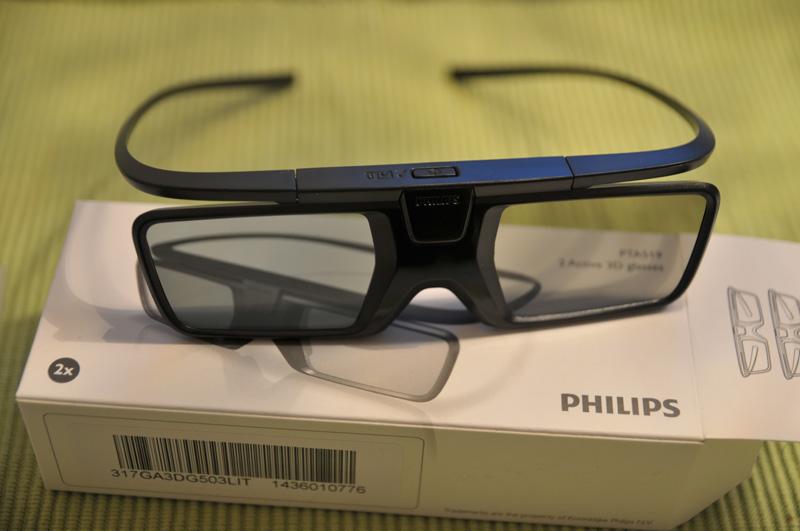 Philips 65PUS9809 3D Brille 1