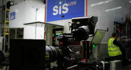SIS Live mit Ultra HD Tests bei einem Premier League Spiel in England