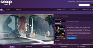 Sky Snap – Online Streamingportal von Sky.