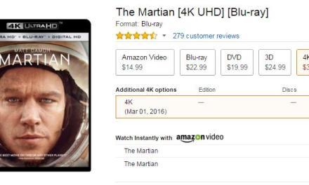 CES 2016: Preis der Ultra HD Blu-rays bei Amazon veröffentlicht