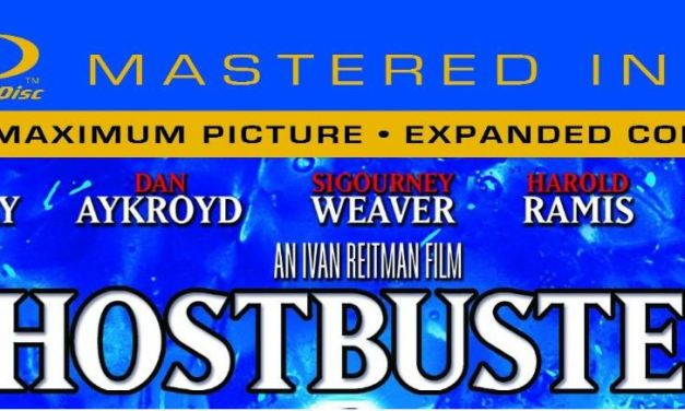 "Ghostbusters – ""Mastered in 4K"" Blu-Ray"