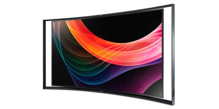 samsung zeigt s9c curved oled tv auf der ifa 2013. Black Bedroom Furniture Sets. Home Design Ideas