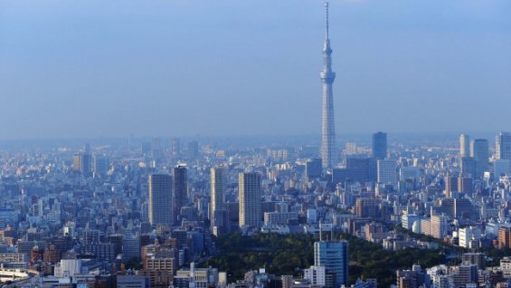 Tokyo: Der Austragungsort der Olympischen Spiele 2020 - in 16-facher Full-HD-Auflösung (8K)