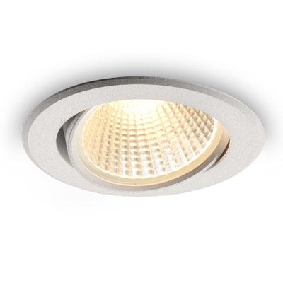 LDC927 white 9 watt LED downlight