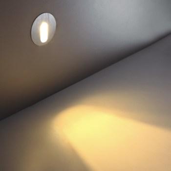 LSL002 1 watt LED staircase wall light