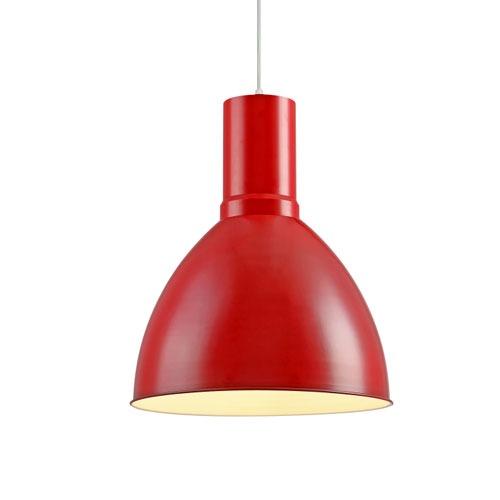 LPL302-RD Red Pendant Light Fitting