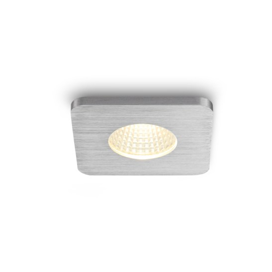 LDC979B Brushed aluminium LED downlight