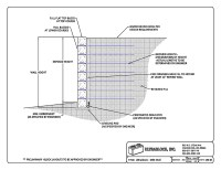 Ultrablock Retaining Wall Drawings