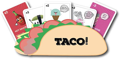 Taco vs Burrito Game with Expansion Pack Link