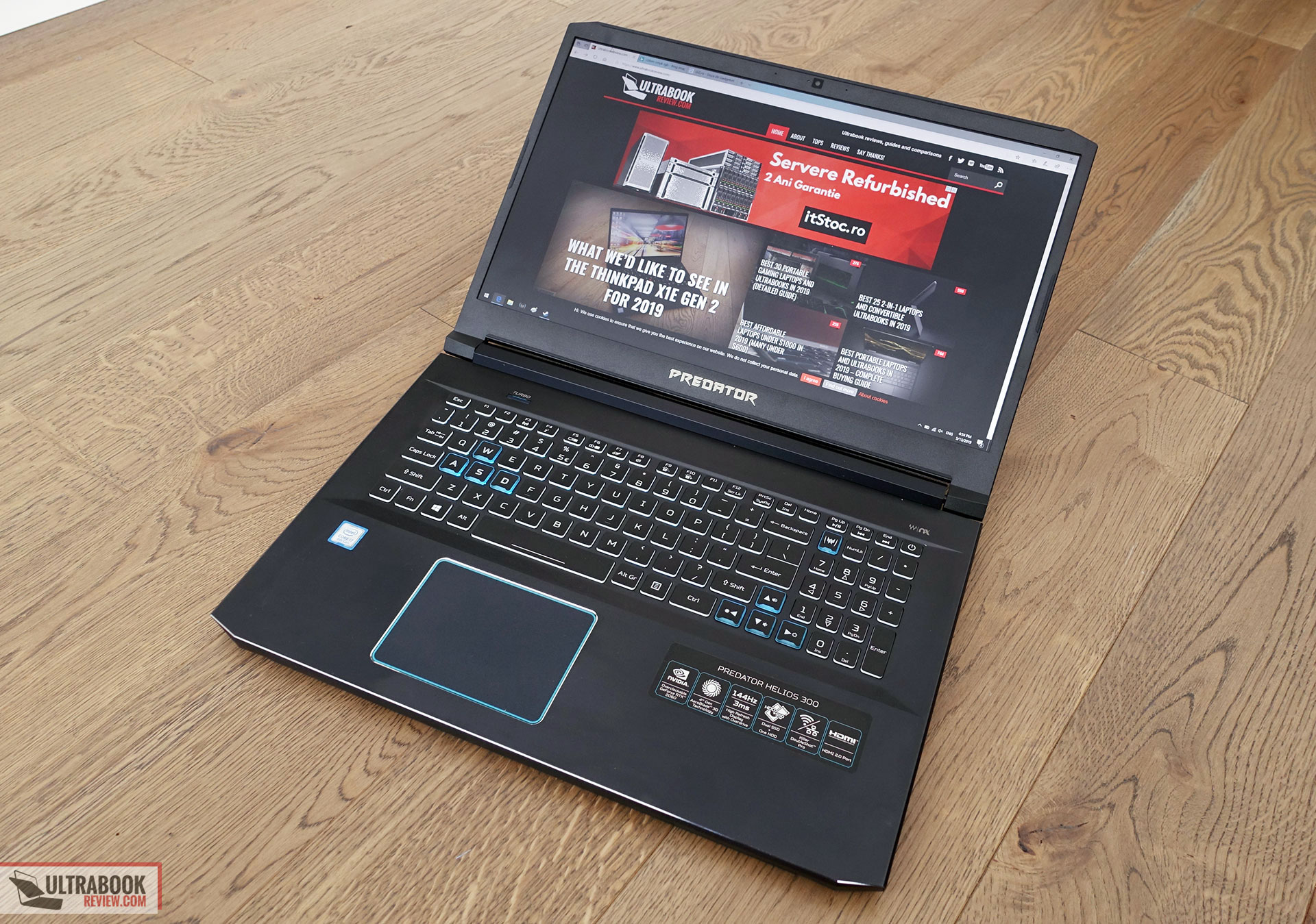 Acer Predator Helios 300 Review 2019 Ph317 53 17 Inch Model