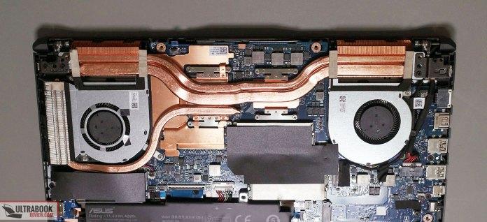 Asus TIF A15 FA506IU - thermal module