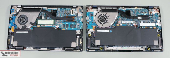 Asus ZenBook 14 - thermal designs