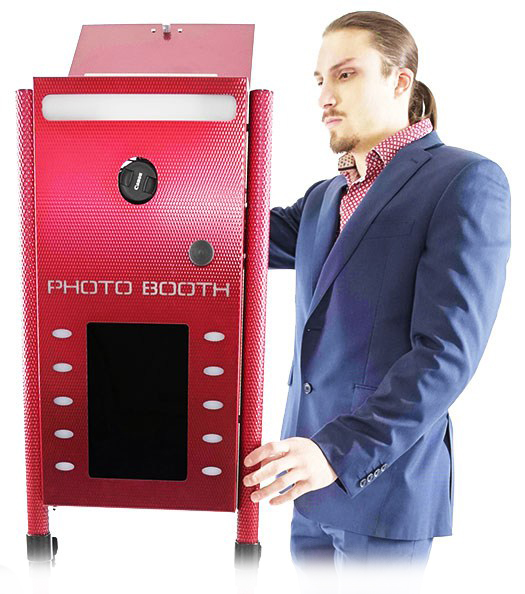Paul Rubino with Ultrabooth Photobooth
