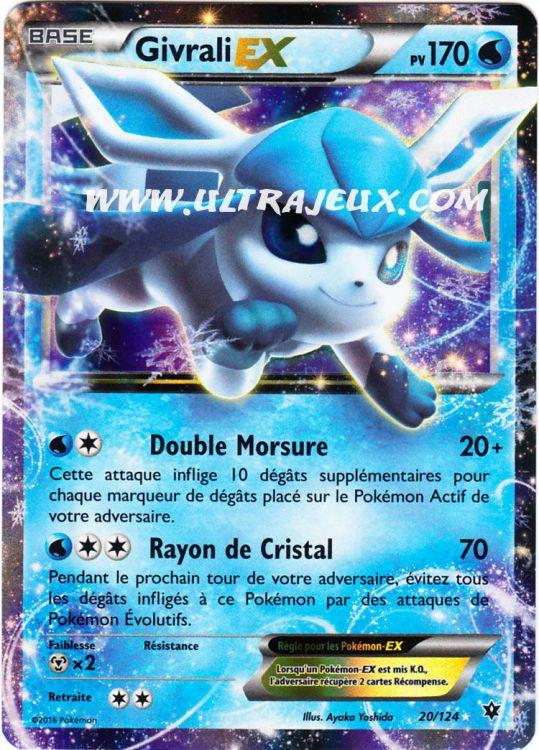 UltraJeux Givrali Ex 20124 Carte Pokmon Cartes L