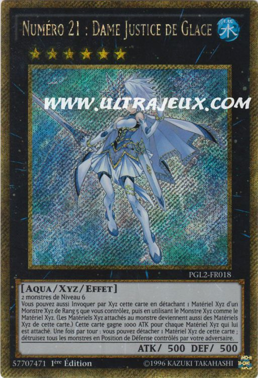 UltraJeux Numro 21 Dame Justice De Glace PGL2 FR018