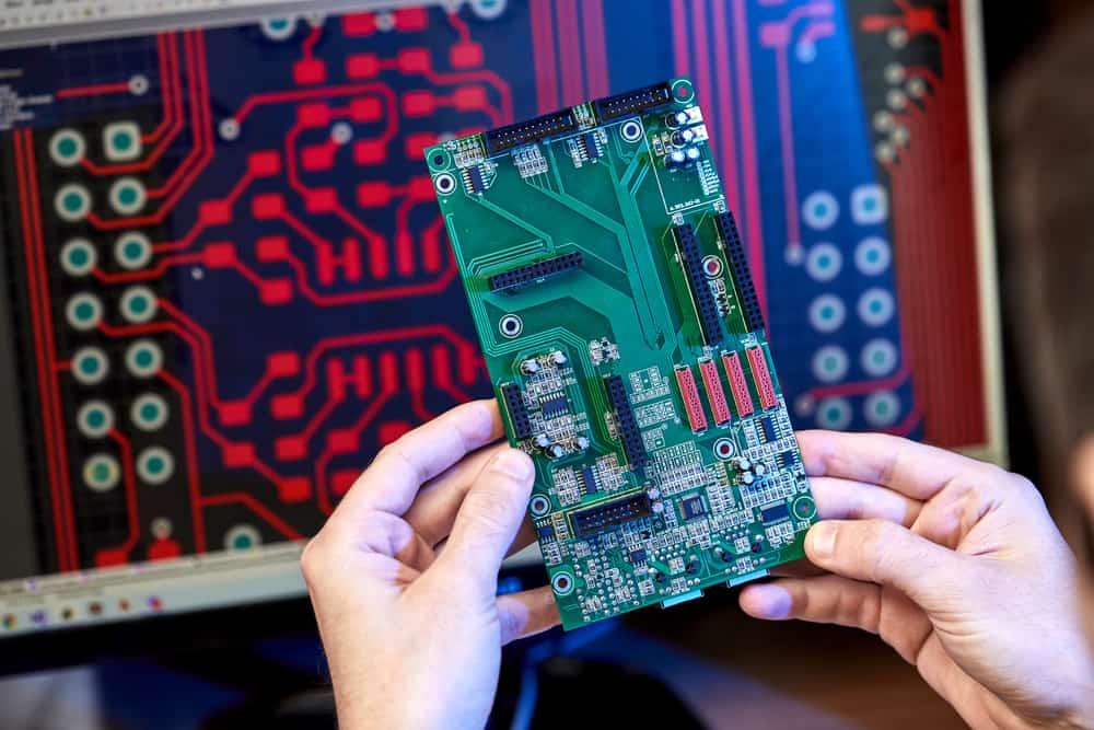 Simulation of a digital circuit