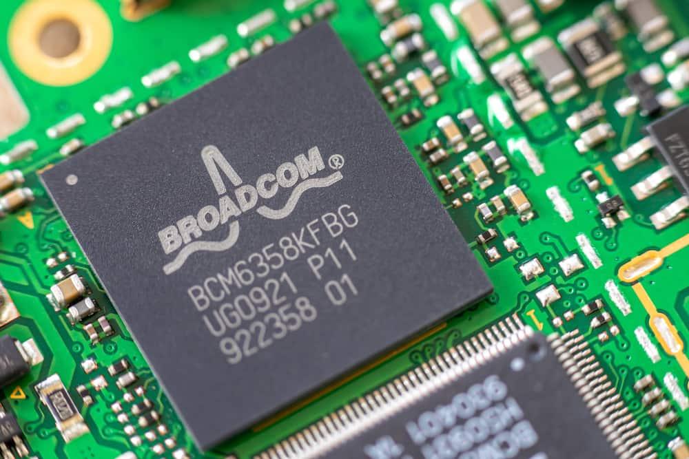 MPN for a Broadcom chip