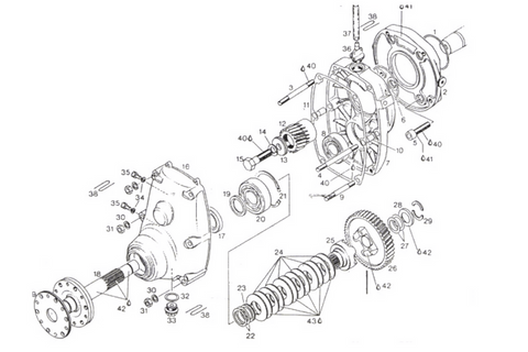 Rotax A Drive Gear Box Drive Removal Procedure for Rotax