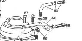 Rotax 912 carb set up, Rotax 912 Bing carburetor