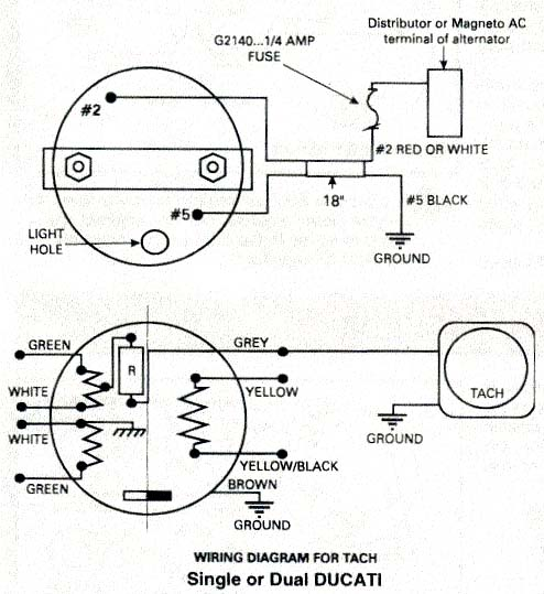 Rotax Ducati ignition wiring diagram, Rotax aircraft