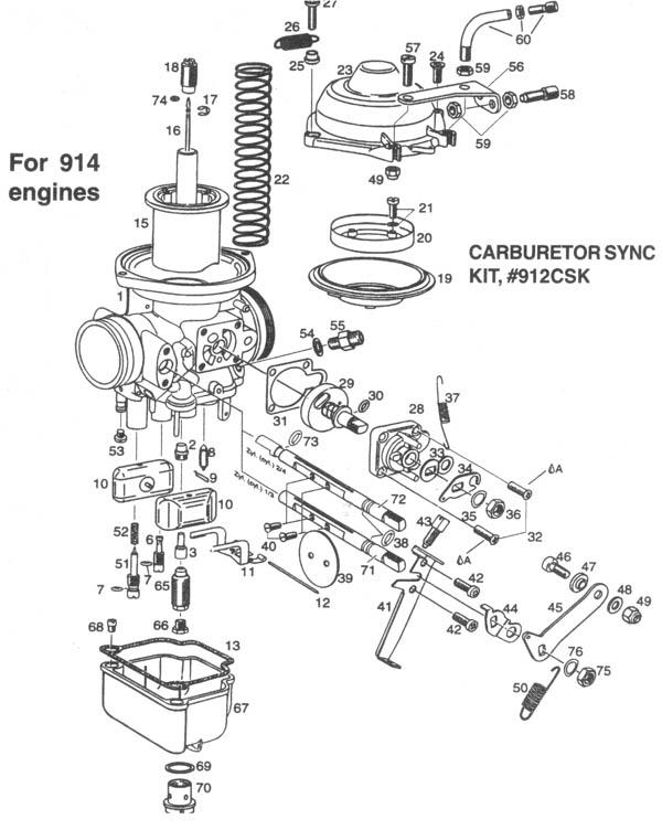 Bing 64 Carburetor, Bing altitude compensating carburetors