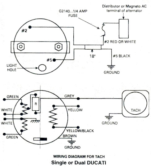 tachometer wiring diagram for carrier ac ducati ignitionwiring rotax 447 503 ignition