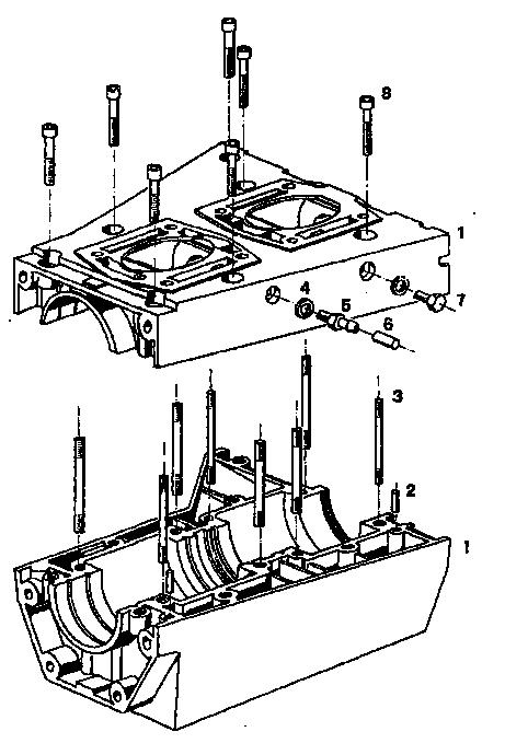 Hirth 2703 aircraft engine parts manual.