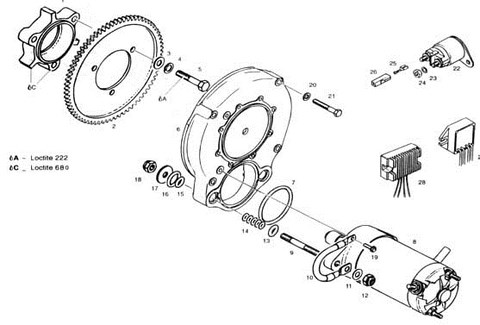 Rotax 532, Rotax 582 Liquid Cooled Aircraft Engine