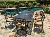 Grand Terrace Cushion Swivel Rocker - Ultra Modern Pool