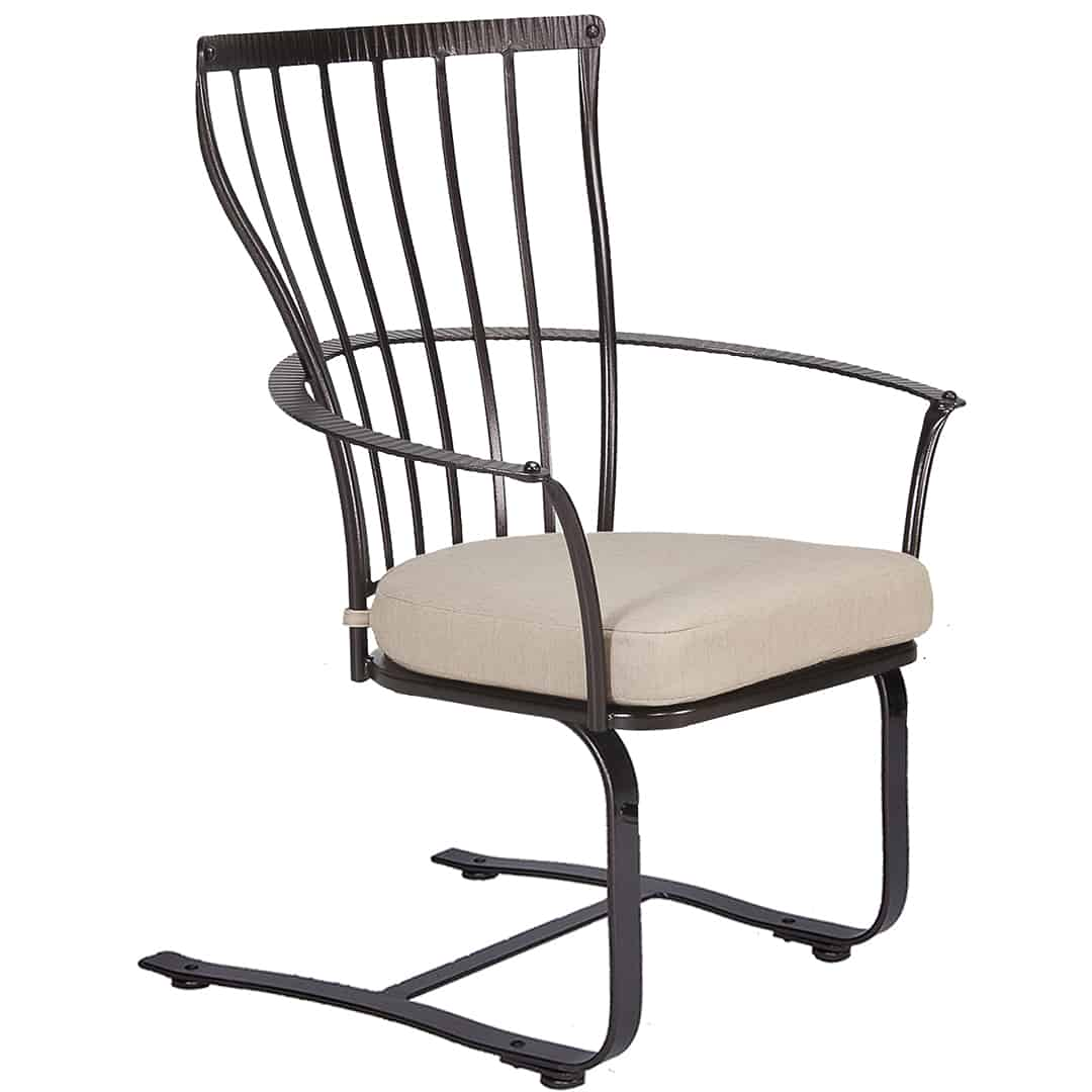 springs for dining chairs small stool chair monterra spring base ultra modern pool and patio