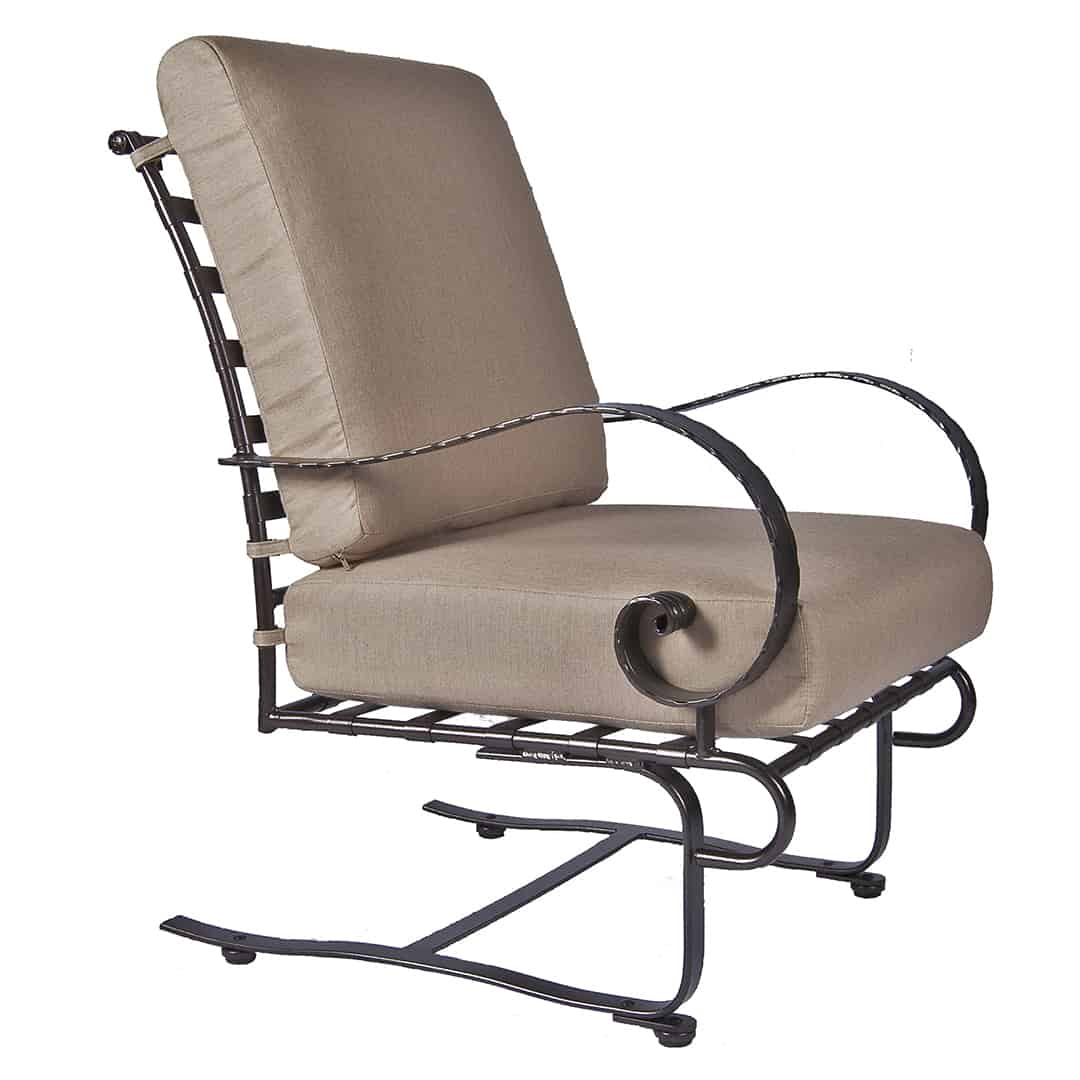 Classico Lounge Spring Base Chair  Ultra Modern Pool  Patio