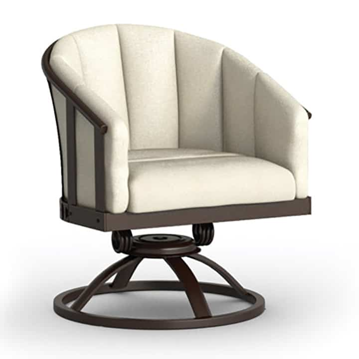 barrel chairs swivel rocker gravity recliner outdoor chair uk dining ultra modern pool patio homecrest liberty 1689a