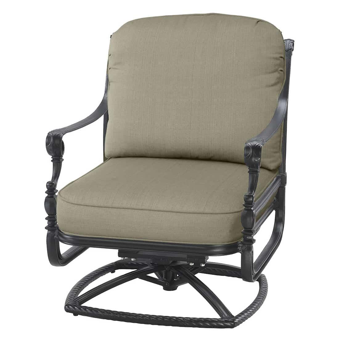 swivel lounge chairs brown chair grand terrace cushion rocker ultra