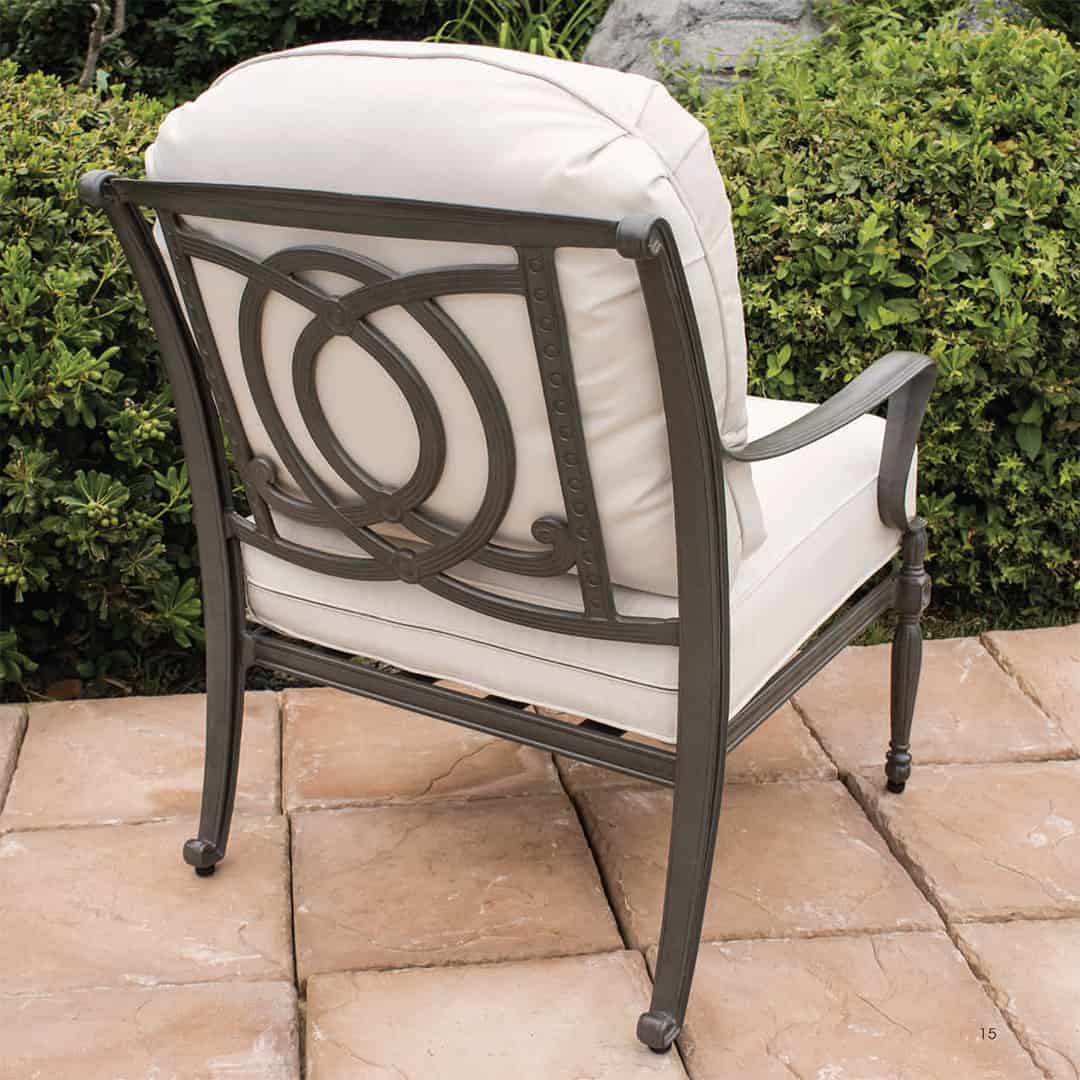 air chair frame how much do adirondack chairs cost bel cushion lounge ultra modern pool and patio