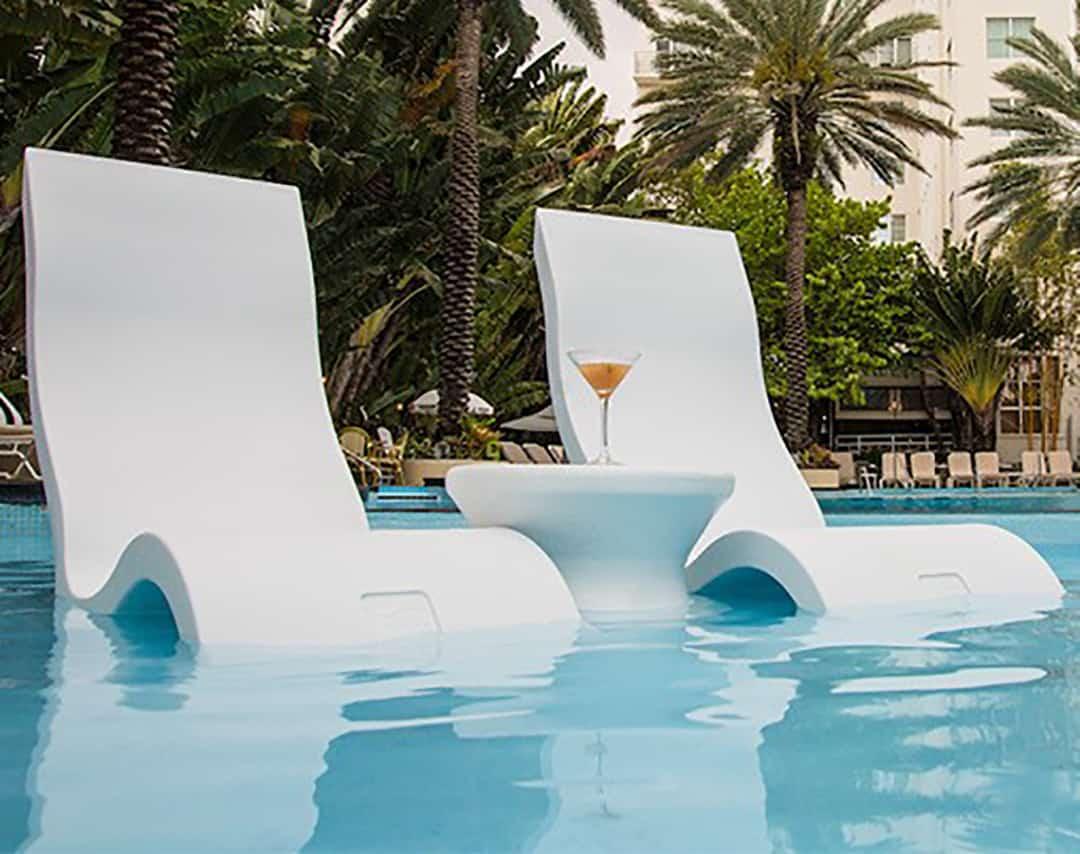 Ledge Lounger High Back Chair Ultra Modern Pool Amp Patio