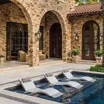 Ledge Lounger Chaise - Ultra Modern Pool & Patio