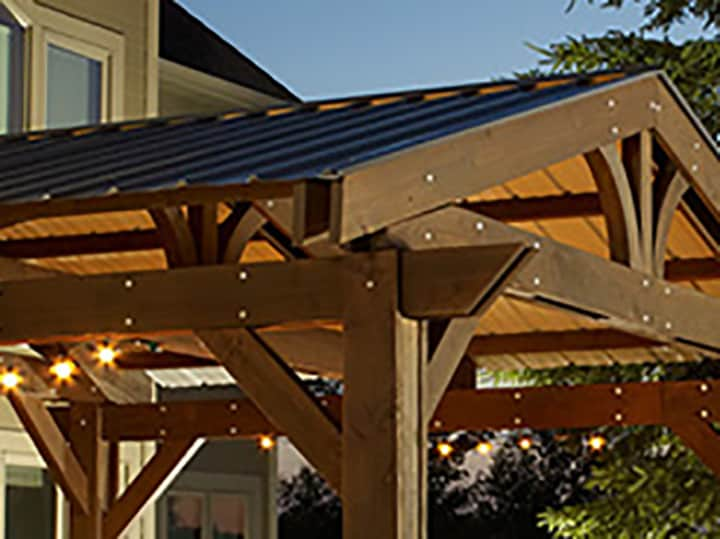 lodge ii metal roof kit