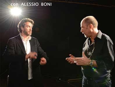 Claudio Focardi con Alessio Boni