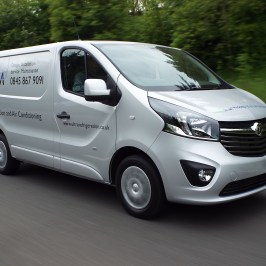 Ultra takes delivery of new van fleet
