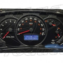 2002 Ford V10 Pioneer Deh 105297r - Workhorse Actia Instrument Full Cluster Repair (upgraded Lcd And Gauges) Parts
