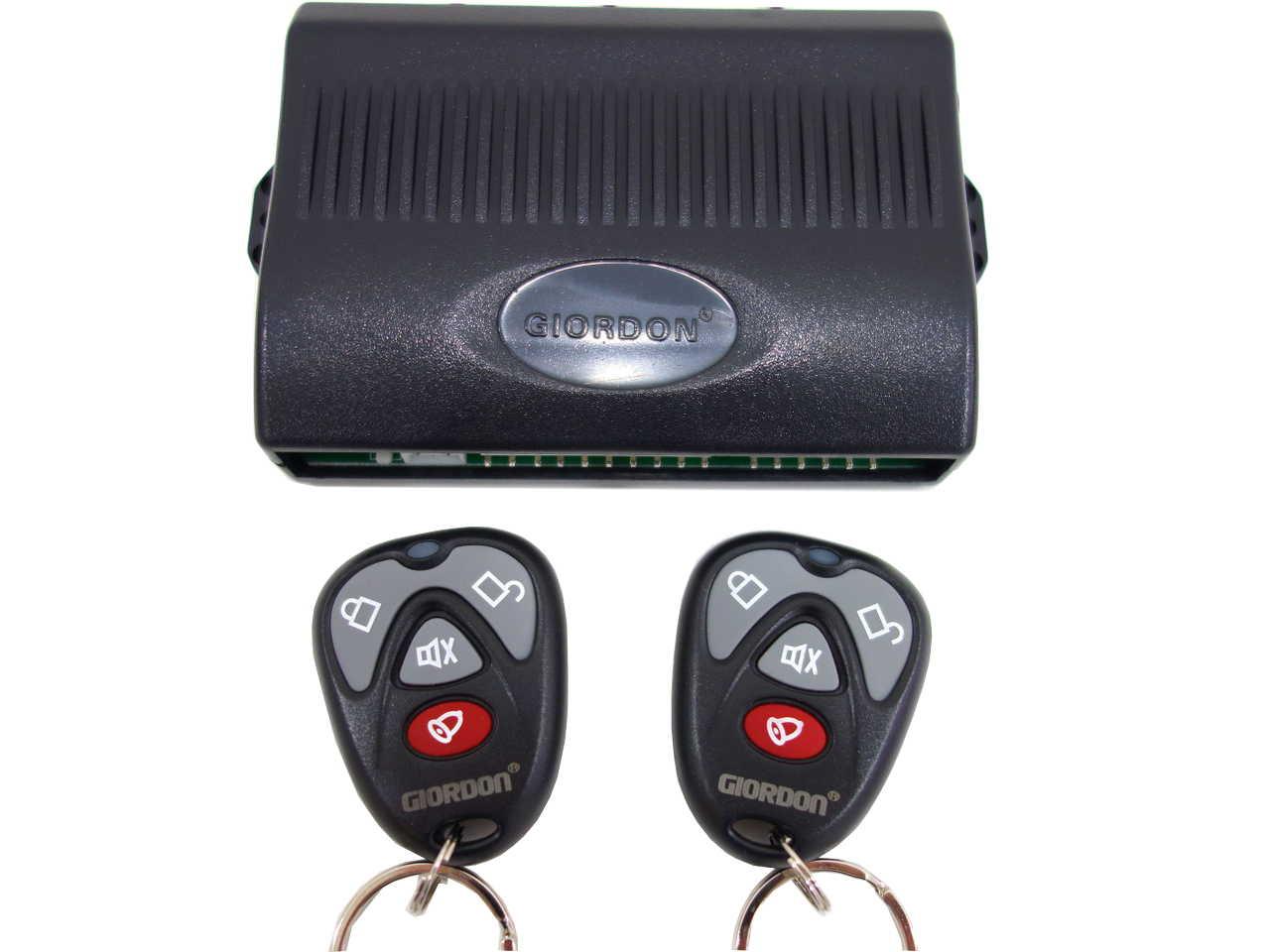 giordon car alarm system wiring diagram 1995 ford ranger wiper motor all diagrams 1985 chevy truck