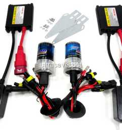 35w h4 h4 2 xenon hid conversion kit slim ballast bulbs 6000k [ 1280 x 960 Pixel ]