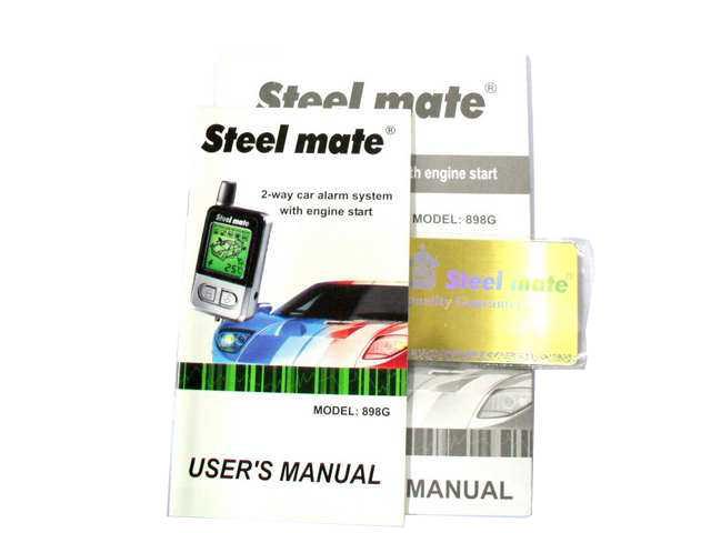 steelmate car alarm wiring diagram 1995 toyota tacoma parts new steel mate 898g 2 way lcd remote engine start | ebay