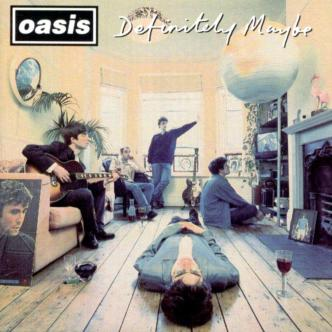 Oasis - Definitely Maybe - Front